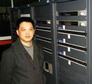 Mr Shi-Song Wu, director of NBTV's Technical Centre