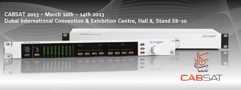 Cabsat 2013 / T*AP Television Audio Processor Edition